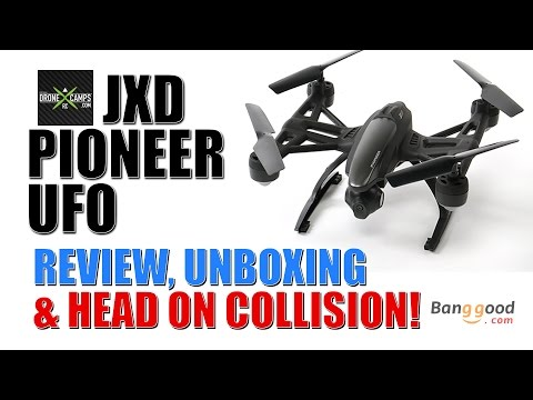 JXD PIONEER UFO - Complete Review & Head On Collision!