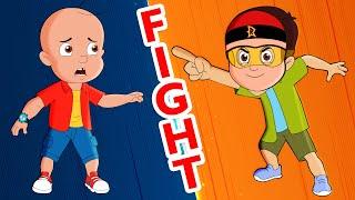 Mighty Raju - Asli Hero Se Muqabla | असली VS नकली | Adventure Videos for Kids in हिंदी |