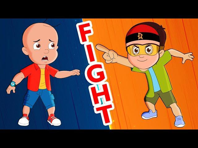 Mighty Raju - Asli Hero Se Muqabla   असली VS नकली   Adventure Videos for Kids in हिंदी  