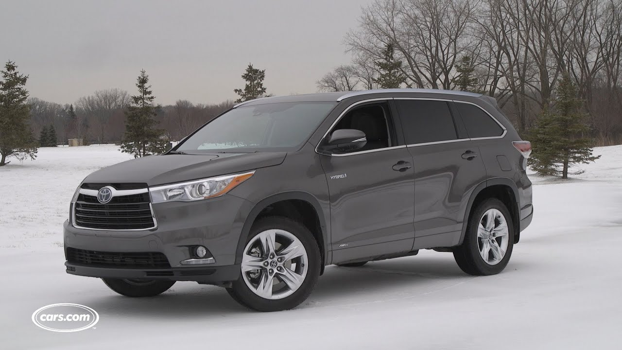 suv electric sale toyota used highlander awd limited for hybrid