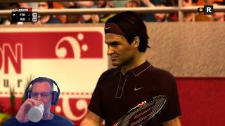 Roger Federer vs. Novak Djokovic - Wimbledon 2019 - Top Spin 4 - Live Stream [#118]