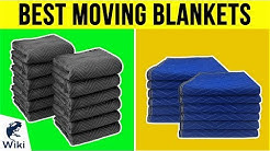 10 Best Moving Blankets 2019
