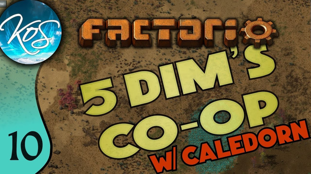 Factorio 5Dim's Co-op Ep 10: THE EXCITEMENT IS REAL - MP with