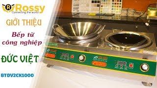 Giới thiệu Bếp từ Đức Việt hai chảo kính  BTDV2CK1000 | Induction Cookers | Bếp từ