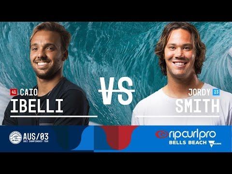 Caio Ibelli vs. Jordy Smith - FINAL - Rip Curl Pro Bells Beach 2017