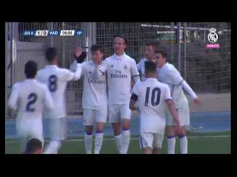 Real Madrid Juvenil A vs. Real Valladolid, 22-1-2017, 1-0 by Mink
