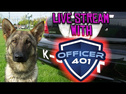 K9 Discussion with OFFICER 401