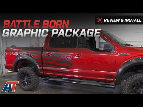1979-2017 F150 Battle Born Graphic Package Review & Install