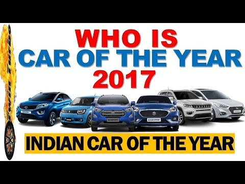 Car Of The Year 2017 India Best In Indian