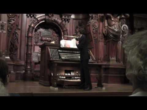 Philip Pampreen Organ Recital Methuen Memorial Music Hall
