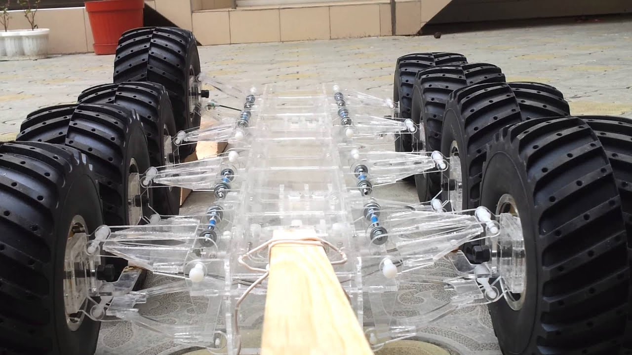 Рессорно-балансирная подвеска для багги