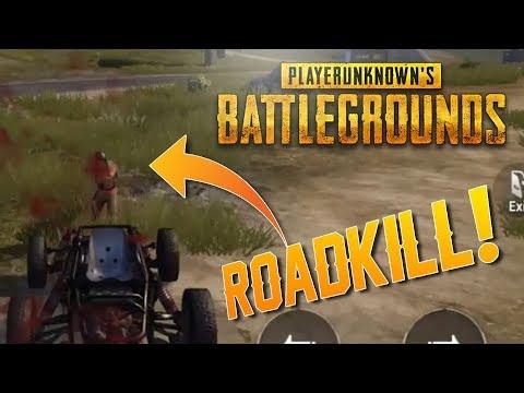 ROADKILL!! Player Unknown Battleground Mobile [PUBG]