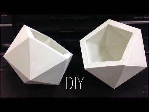 【威霖TV】五角水泥盆教學 Pentagonal cement