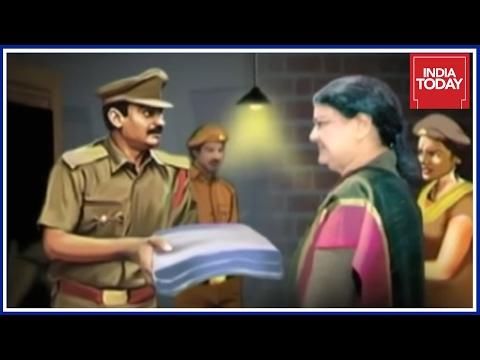 Inside Details Of Sasikala's First Night In Bengaluru Jail