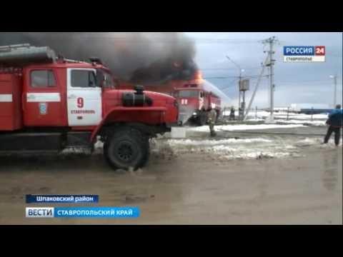 Почему загорелась мебельная фабрика на Ставрополье