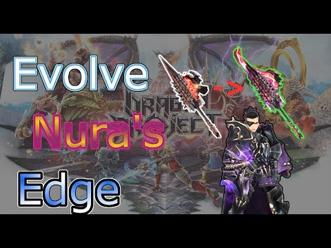 Dragon Project - Enhancing and evolving Nura's Weeping Edge