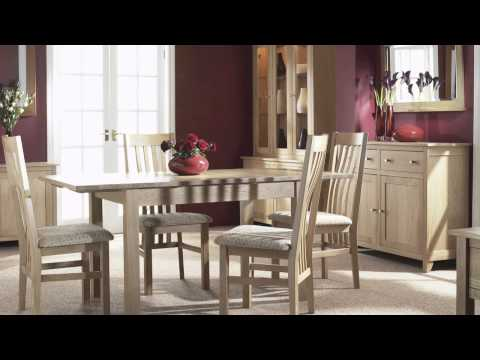 Nimbus Solid Oak Dining Room Furniture