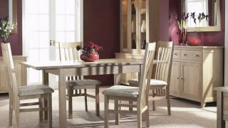Nimbus Solid Oak Dining Room Furniture