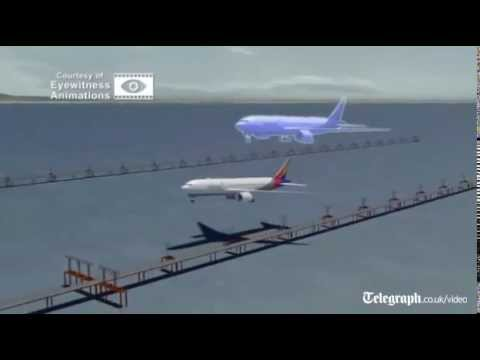 San Francisco airport crash: Asiana flight 214 crash reconstructed