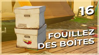 ON FOUILLE OF BOITES FORTNITE SAUVER THE WORLD#16