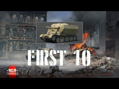 War Thunder First 10 - Versuchsflakwagen (VFW)