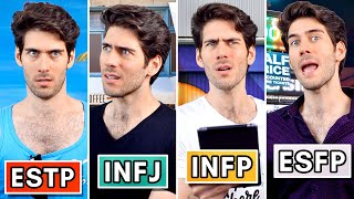 16 Personalities Taking the 16 Personalities Test