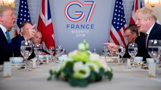 Johnson, Trump meet at G7 summit