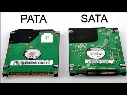 What Is Difference Between Sata And Pata Hard Drives Youtube