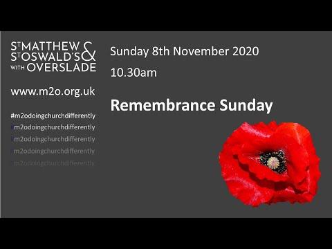 8 November Remembrance Sunday Service