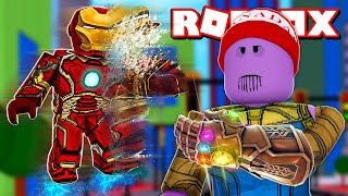 Roblox → I TURNED the THANOS and DESTROYED ALL FINGER SNAPPING ► Roblox SNAP Simulator 🎮