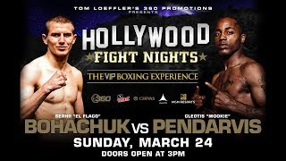 Hollywood Fight Nights March 24, 2019 Fight Night: Tom Loeffler's HOLLYWOOD FIGHT NIGHTS live fro...