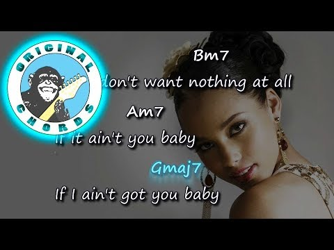Alicia Keys - If I Ain't Got You - Chords & Lyrics