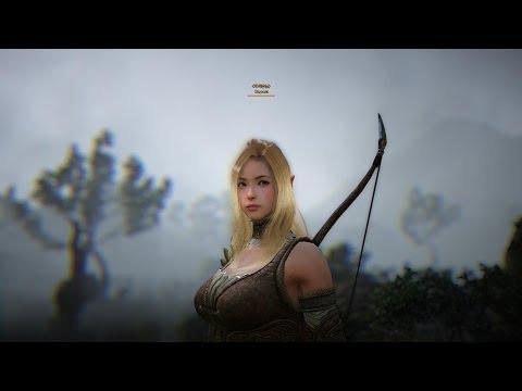 Black Desert Online Beta Level 27 Archer Gameplay No UI HD