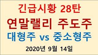 [긴급시황 28탄 연말랠리 대형주 vs 중소형주 주도주…