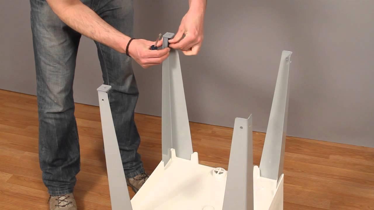 Installing the Mustee UTILATUB® Laundry Tub/Sink - YouTube