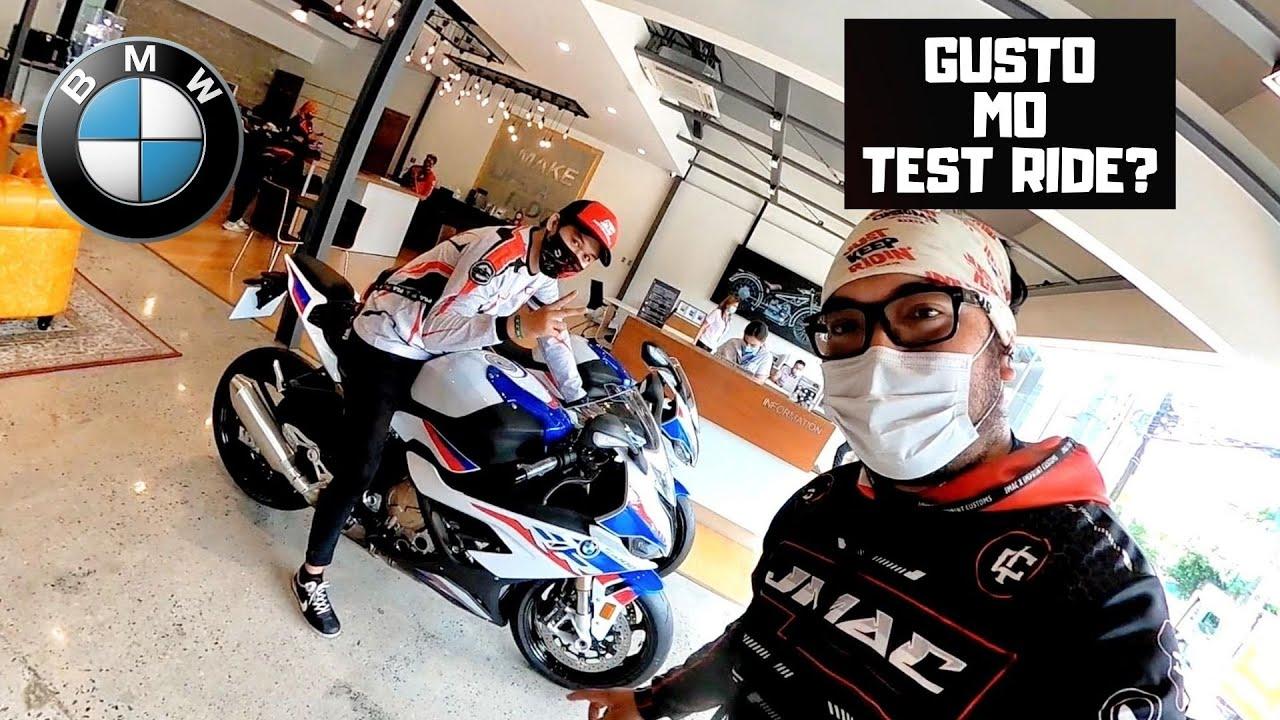 PWEDE BA MAG TEST RIDE NG MOTOR SA BMW? S1000RR