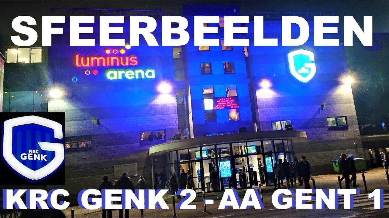 KRC GENK 2 - 1 AA GENT (55 Minuten Sfeerbeelden na de Match) 6 April 2019 -  YouTube