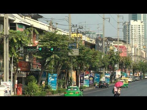 Southeast Asia '13 - Thailand - capital city Bangkok - street views and traffic Pt.03
