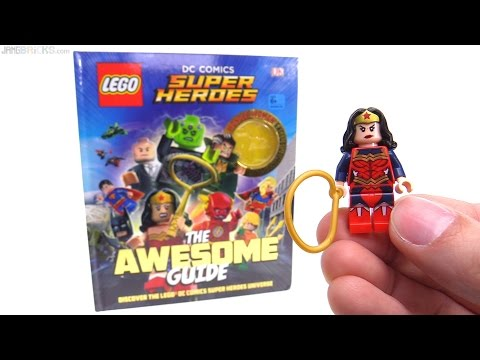 Exclusive LEGO Wonder Woman figure from The Awesome Guide!