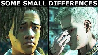 Small Dialogue Differences With Louis - The Walking Dead Final Season 4 Episode 2 (Telltale Series)