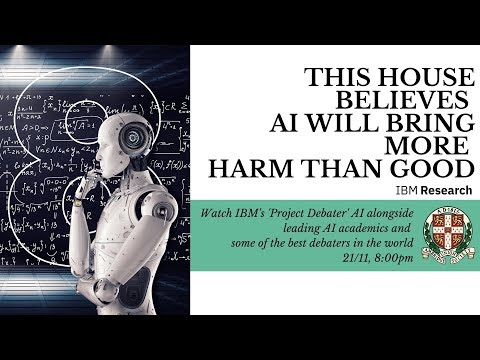 This House Believes AI Will Bring More Harm Than Good | Debate | Cambridge Union