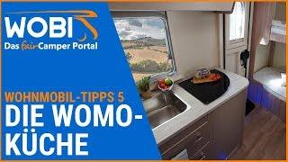 WOBI-Wohnmobil-Tipps 5: Die Wohnmobil-Küche