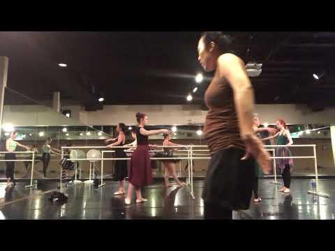 Inside a college ballet class! Happy world ballet day!!