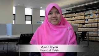Study Abroad in New Zealand: Ainaa Izyan, Malaysia