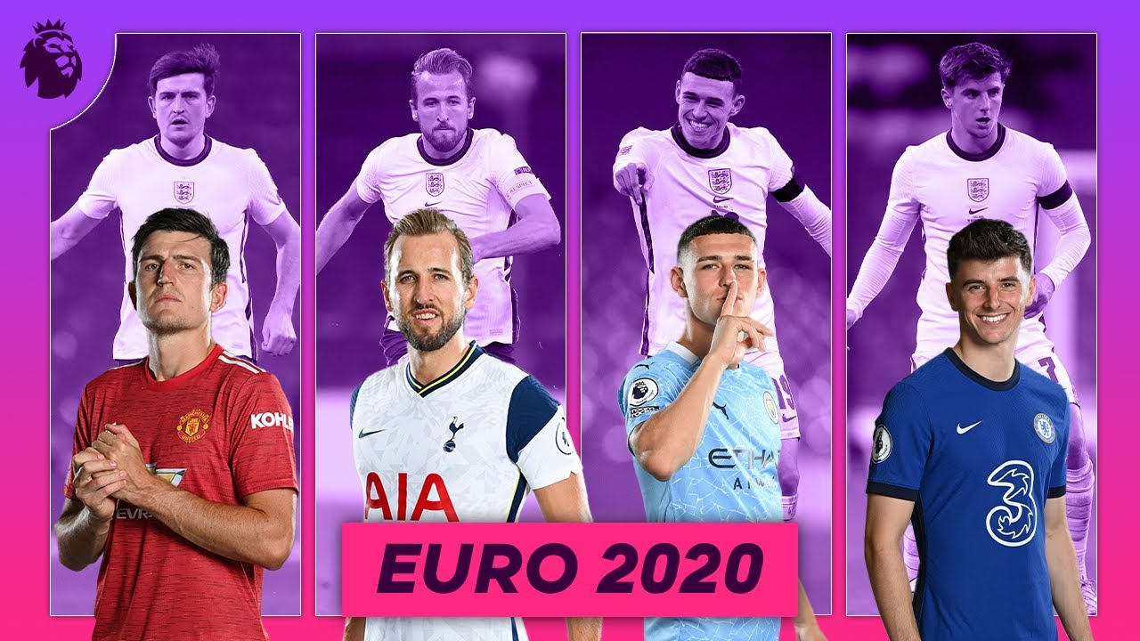 England Euro 2020 superstars in the Premier League | Maguire, Kane, Foden, Mount