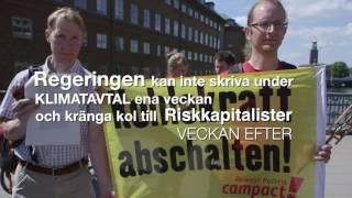 Rosenbad Låt Kolet Ligga demonstration