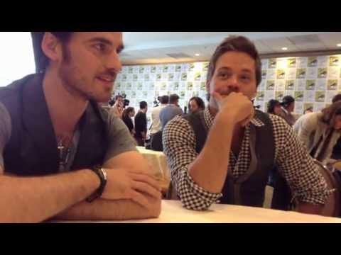 ONCE UPON A TIME's Colin O'Donoghue & Michael RaymondJames Talk Season 3, Family Tree at ComicCon