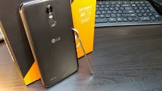 LG STYLO 3  Unboxing    ( Only Phone LEFT with a built-in Stylus )
