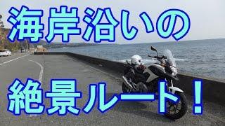 モトブログ 16 南伊豆ツーリング② 伊豆高原 下田まで海と河津桜を見ながら走る nc700x