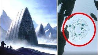 10 Phát Hiện Bí Ẩn Và Kỳ Lạ Nhất Tại Nam Cực